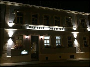 Außenbeleuchtung Gasthaus Lohgarten